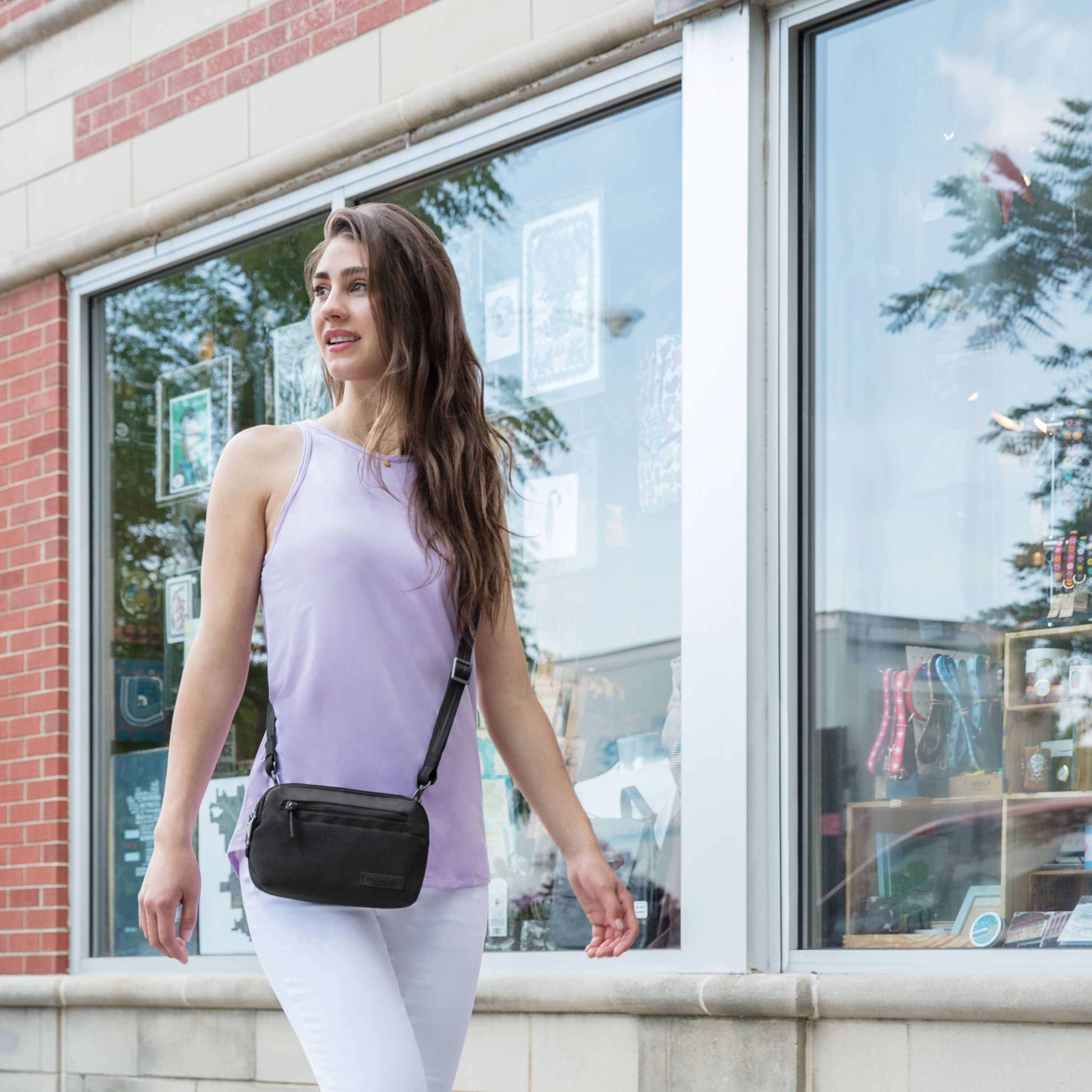 Anti-Theft Metro Convertible Small Crossbody
