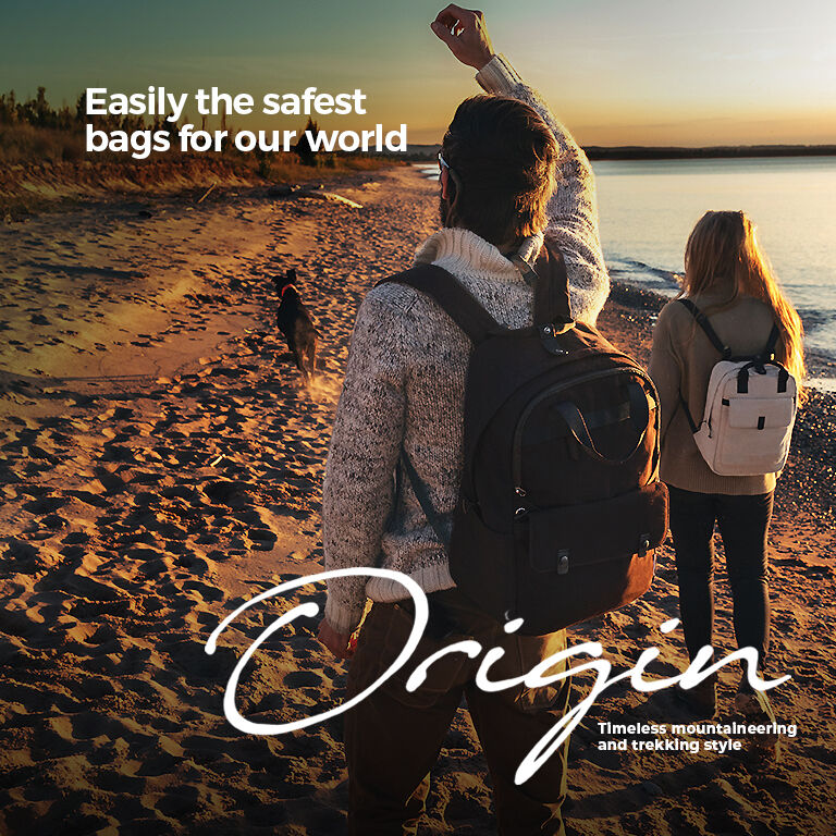 no excuses: sustainable, antimicrobial, anti-theft origin collection