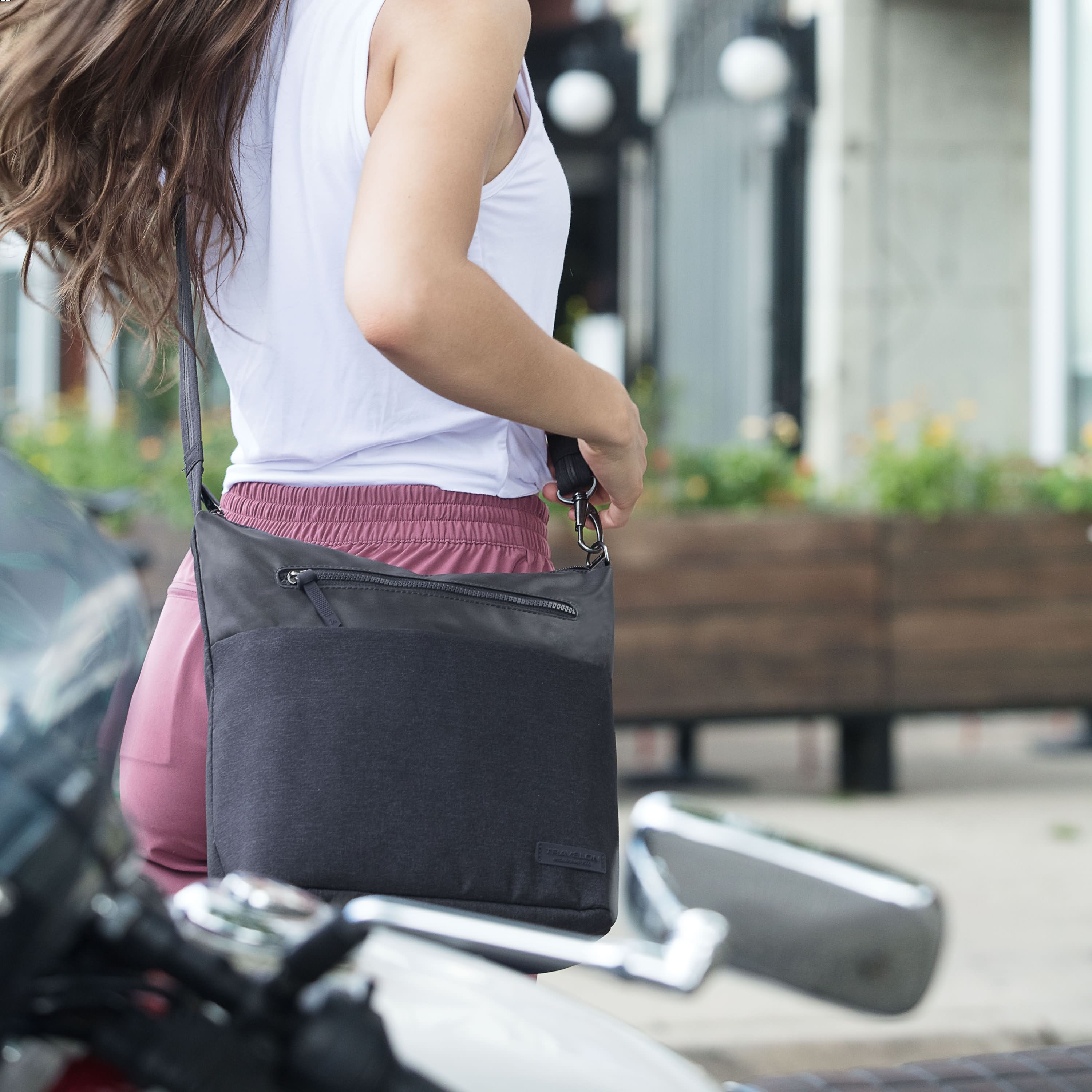 Anti-Theft Metro Crossbody