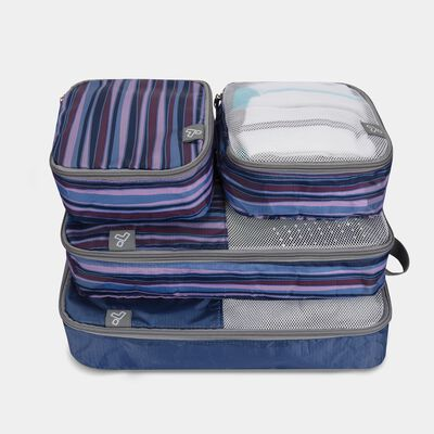 set of 4 soft packing organizers