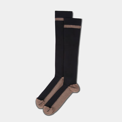 copper infussed compression socks - large