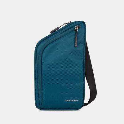 world travel essentials slim crossbody bag