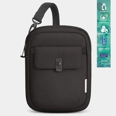 origin sustainable antimicrobial anti-theft slim bag