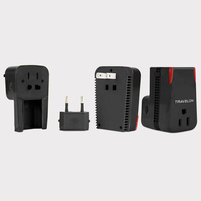 02042 universal 3 in 1 adapter, converter & usb charger