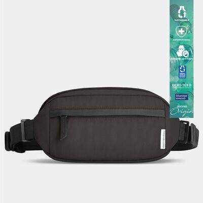 origin sustainable antimicrobial anti-theft hip pack/sling