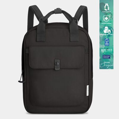 origin sustainable antimicrobial anti-theft  small backpack