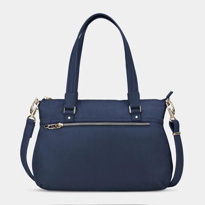 anti-theft tailored satchel