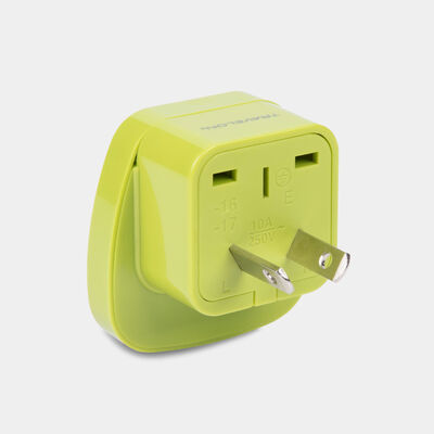 australia grounded adapter plug