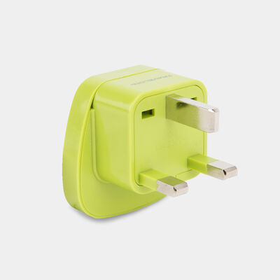 u.k. grounded  adapter plug