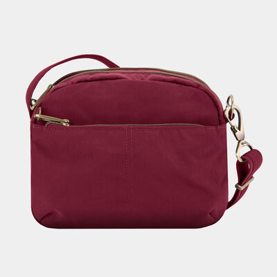 anti-theft signature east/west shoulder bag
