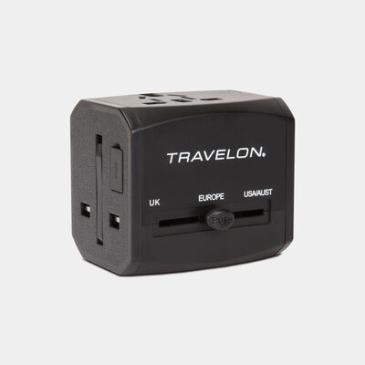 universal adapter with dual usb and usb-c