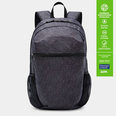 clean antimicrobial packable backpack