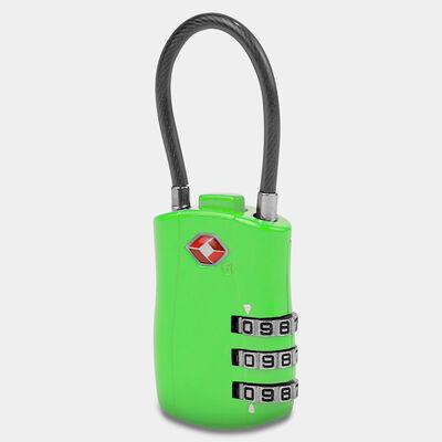 tsa accepted cable lock