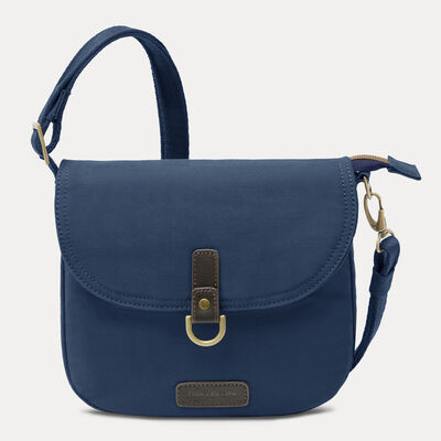 anti-theft courier saddle crossbody