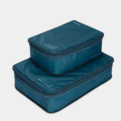 world travel essentials set of 2 cubes with compression